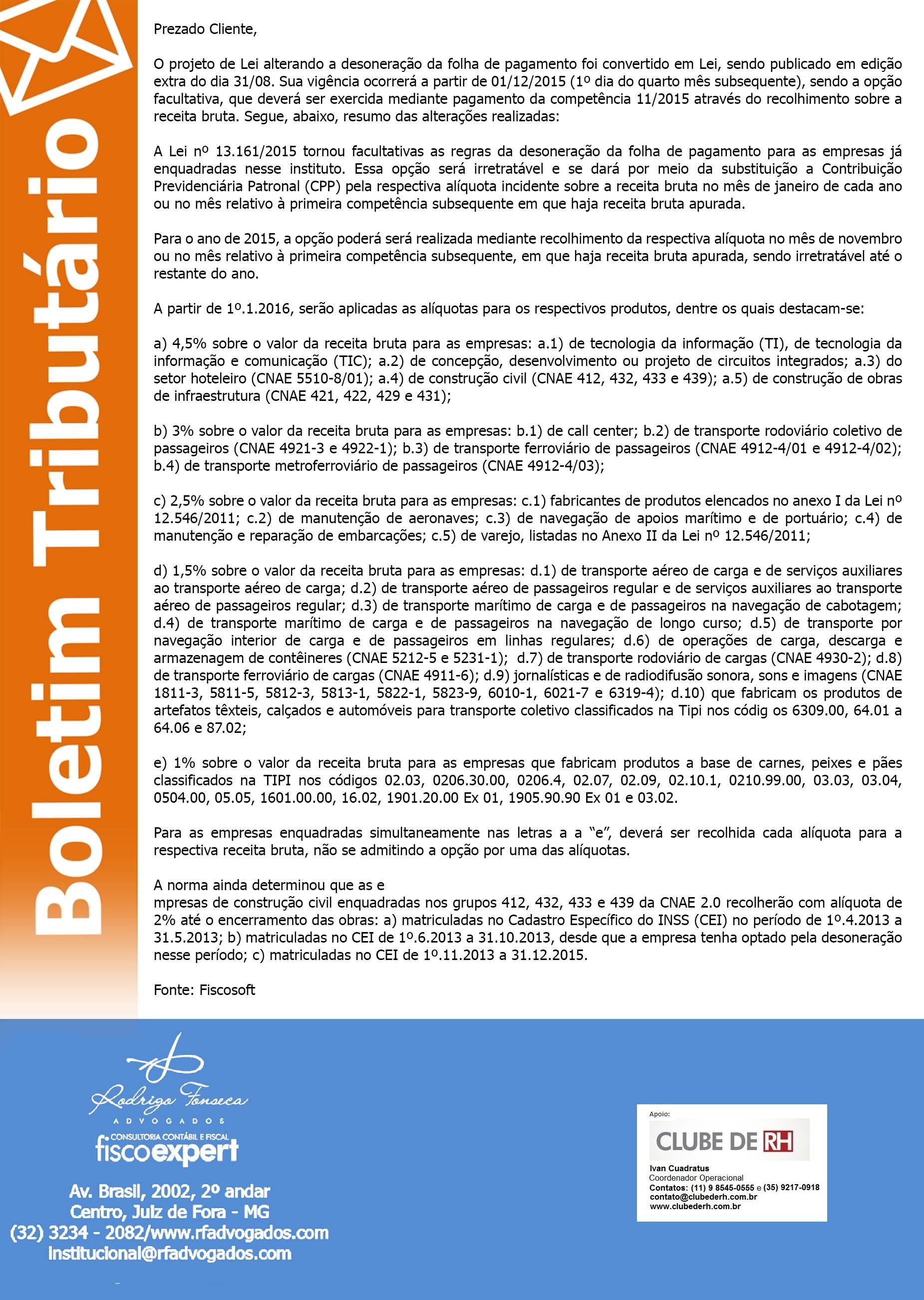 Boletim Tributário 03.09