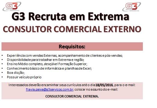 Consultor Comercial Externo Extrema
