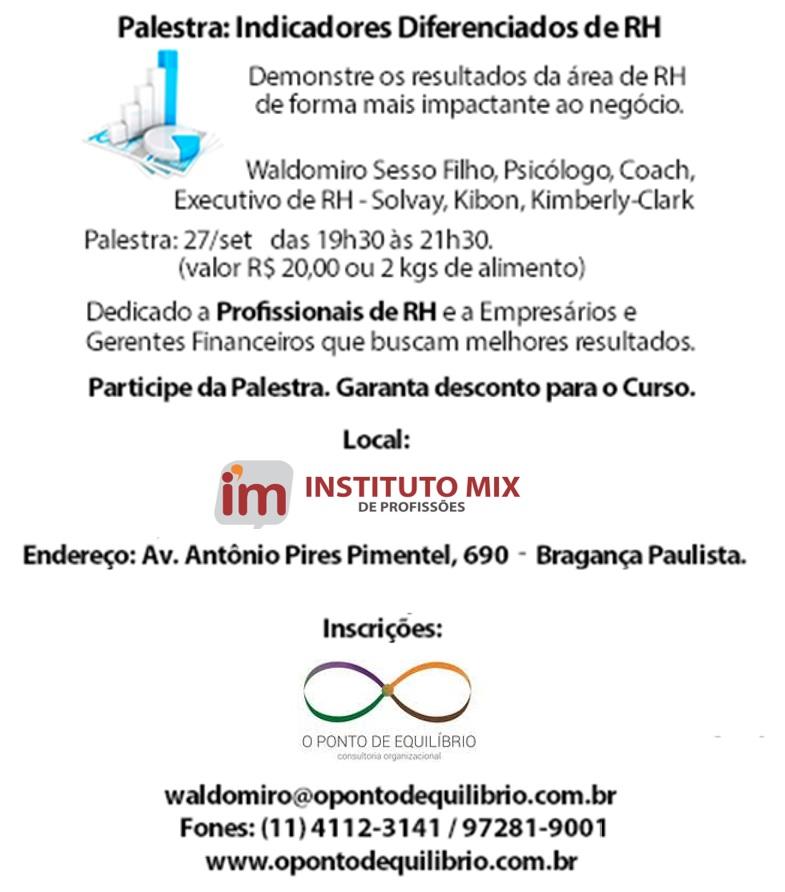 Waldomiro - Instituto Mix